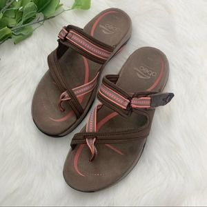 Abeo | Strappy Slip On Comfort Sport Sandals Shoes